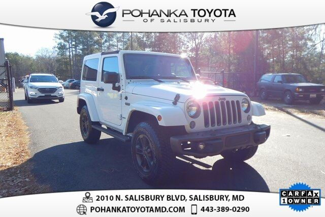 2016 Jeep Wrangler Sahara 75th Anniversary Edition Salisbury MD