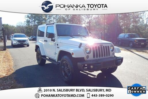 2016_Jeep_Wrangler_Sahara 75th Anniversary Edition_ Salisbury MD
