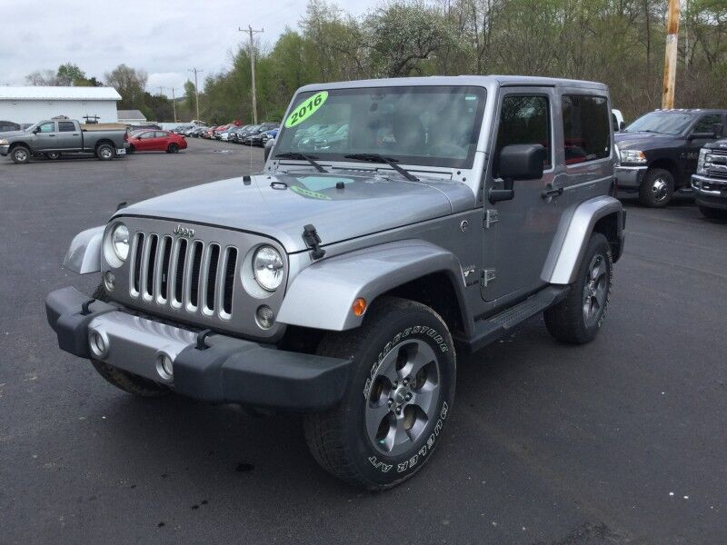 2016 Jeep Wrangler Sahara Little Valley NY