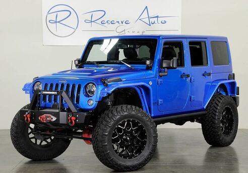 2016 Jeep Wrangler Turbo Unlimited Rubicon Rubicon 310HP to rear whls The Colony TX
