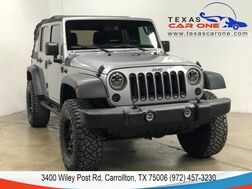 2016_Jeep_Wrangler_UNLIMITED SPORT 4WD AUTOMATIC SOFT TOP CONVERTIBLE CRUISE CONTROL ALLOY WH_ Carrollton TX