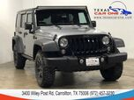 2016 Jeep Wrangler UNLIMITED WILLYS WHEELER 4WD AUTOMATIC HARD TOP CONVERTIBLE BLUE