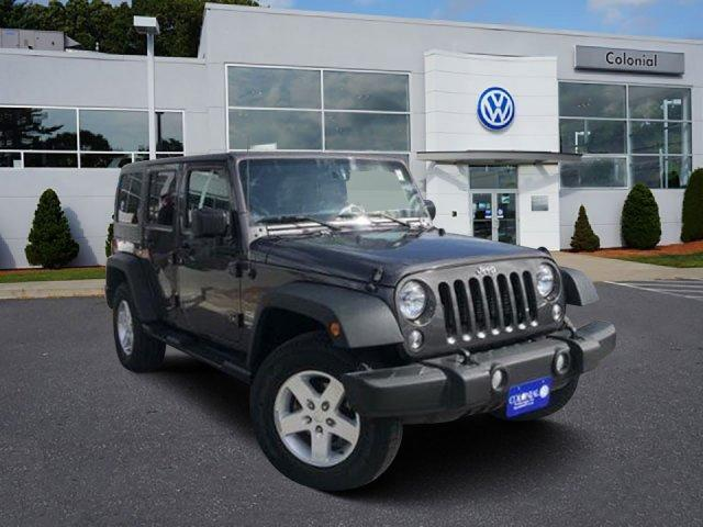 2016 Jeep Wrangler Unlimited 4WD 4dr Sport Westborough MA