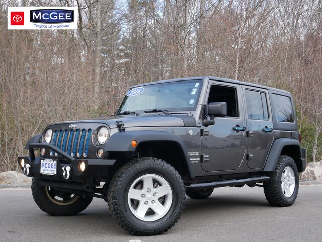 2016 Jeep Wrangler Unlimited 4WD 4dr Sport Hanover MA
