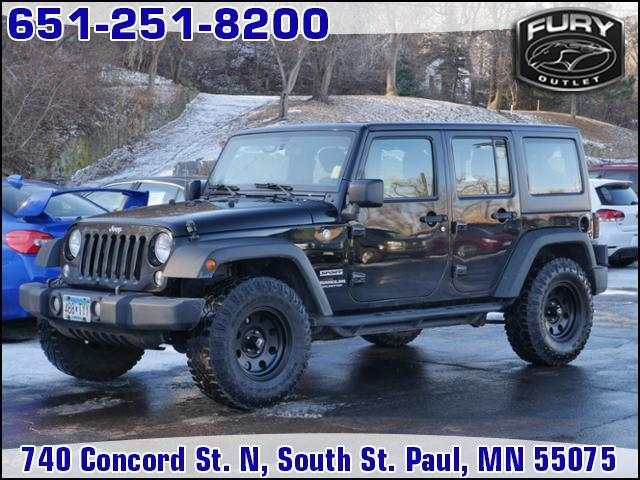 2016 Jeep Wrangler Unlimited 4WD 4dr Sport Lake Elmo MN