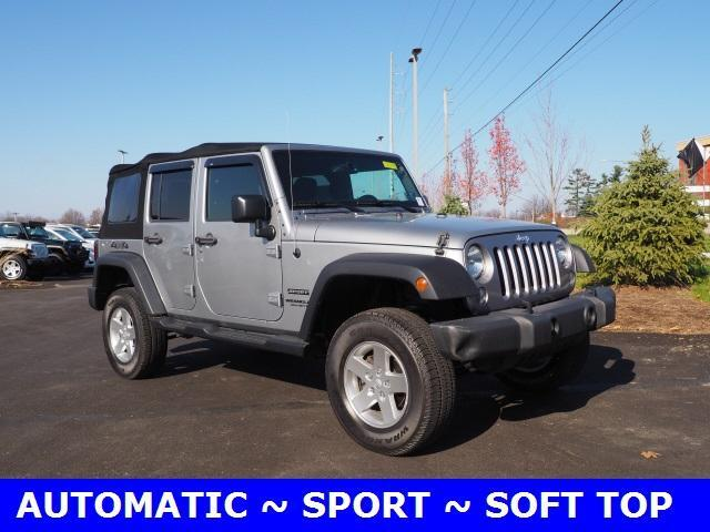 2016 Jeep Wrangler Unlimited 4WD 4dr Sport Mars PA
