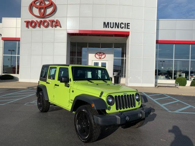 2016 Jeep Wrangler Unlimited 4WD 4dr Sport Muncie IN