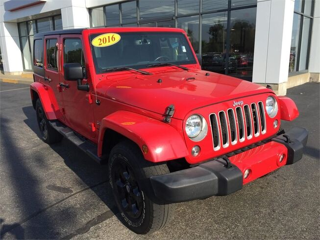 2016 Jeep Wrangler Unlimited 4WD SAHARA Evansville IN