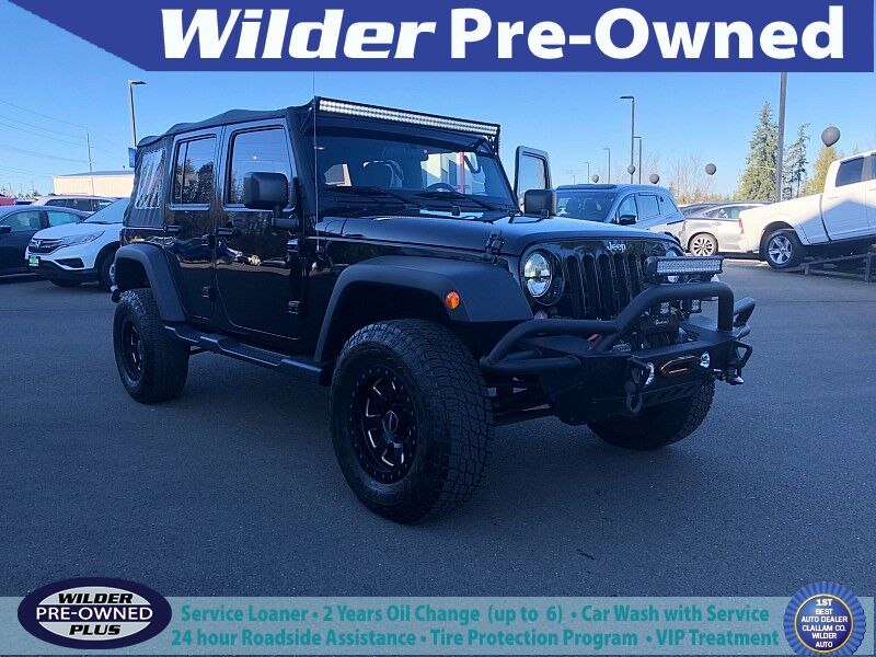 2016 Jeep Wrangler Unlimited 4d Convertible Sport Port Angeles WA