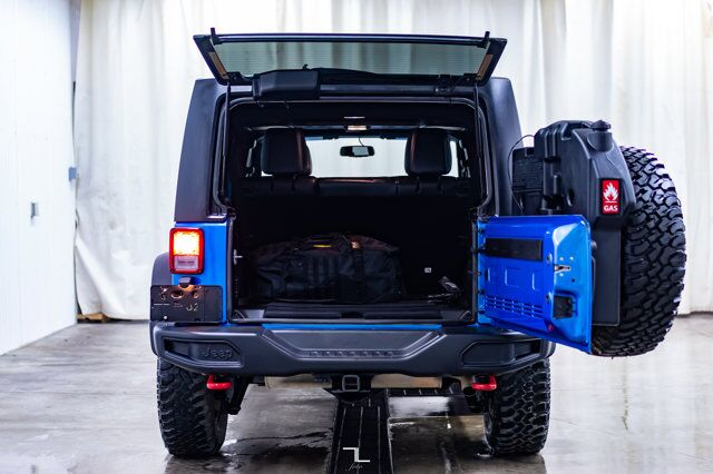 2016 Jeep Wrangler Unlimited 4x4 Rubicon Leather Nav Winch Red Deer AB