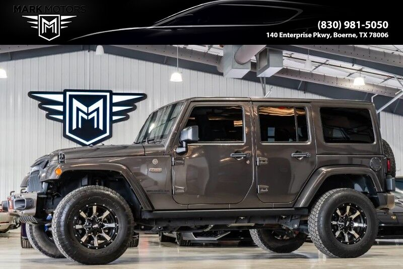 2016_Jeep_Wrangler Unlimited_75th Anniversary_ Boerne TX