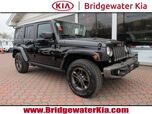 2016 Jeep Wrangler Unlimited 75th Anniversary Edition 4WD, Dual Top Package, Remote Start System, Navigation, Touch-Screen Audio, Bluetooth Technology, Heated Leather Seats, 17-Inch Alloy Wheels,
