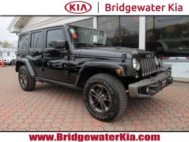 2016 Jeep Wrangler Unlimited 75th Anniversary Edition 4WD, Dual Top Package, Remote Start System, Navigation, Touch-Screen Audio, Bluetooth Technology, Heated Leather Seats, 17-Inch Alloy Wheels, Bridgewater NJ