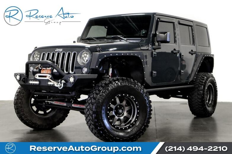 2016 Jeep Wrangler Unlimited 75th Anniversary Lifted Custom Whls/Tires Winch Bumpers The Colony TX
