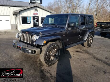 2016 Jeep Wrangler Unlimited 75th Anniversary Middlebury IN