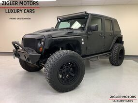 Jeep Wrangler Unlimited Custom Build! 37 Tires/TV's/Tablet/DV8 Accessories!/Custom Leather 2016