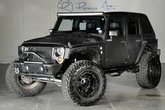 2016 Jeep Wrangler Unlimited Dupont Kevlar Fastback Top Lift Kit