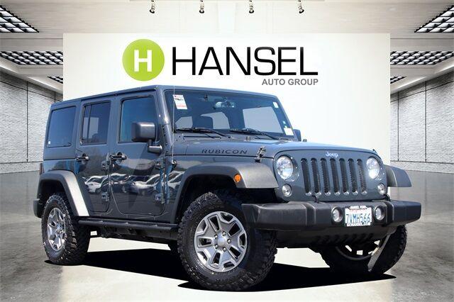 2016 Jeep Wrangler Unlimited Rubicon Santa Rosa CA