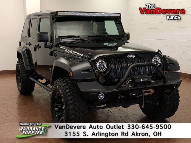2016 Jeep Wrangler Unlimited Rubicon Akron OH