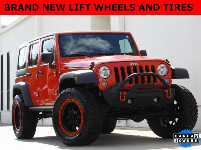 2016 Jeep Wrangler Unlimited Rubicon Bedford TX