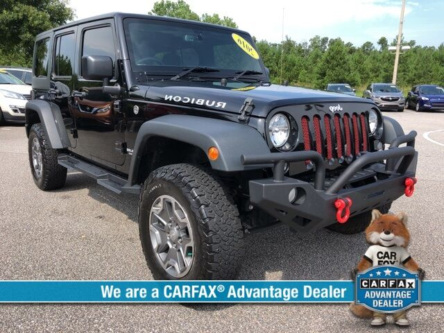 2016 Jeep Wrangler Unlimited Rubicon Savannah GA