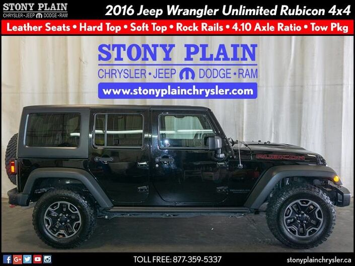 2016 Jeep Wrangler Unlimited Rubicon Stony Plain AB