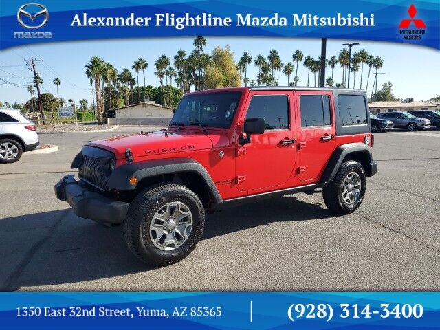 2016 Jeep Wrangler Unlimited Rubicon Yuma AZ