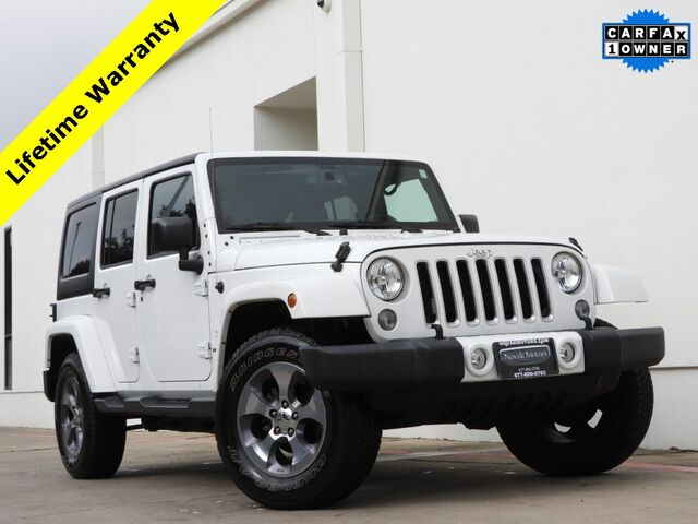 2016 Jeep Wrangler Unlimited Sahara Bedford TX