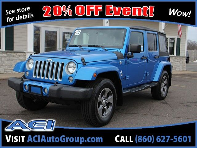 2016 Jeep Wrangler Unlimited Sahara East Windsor CT