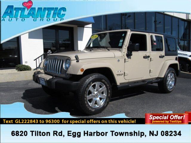 2016 Jeep Wrangler Unlimited Sahara Egg Harbor Township NJ
