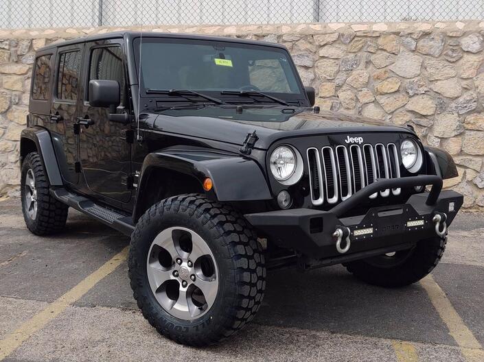 2016 Jeep Wrangler Unlimited Sahara El Paso TX