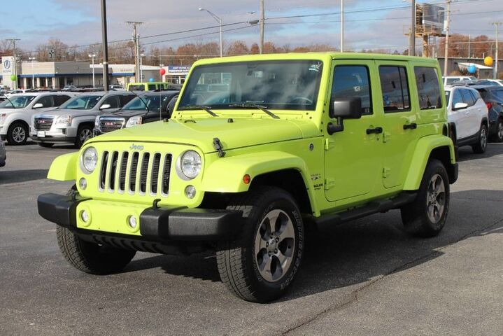 2016 Jeep Wrangler Unlimited Sahara Fort Wayne Auburn and Kendallville IN