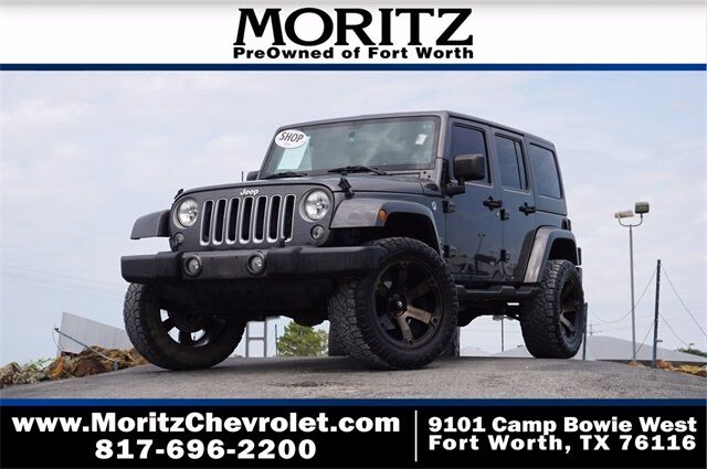 2016 Jeep Wrangler Unlimited Sahara Fort Worth TX