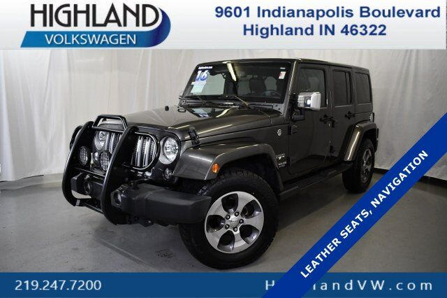 2016 Jeep Wrangler Unlimited Sahara Highland IN