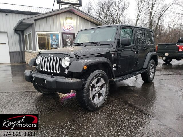 2016 Jeep Wrangler Unlimited Sahara Middlebury IN