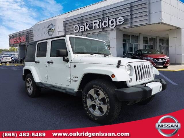 2016 Jeep Wrangler Unlimited Sahara Oak Ridge TN