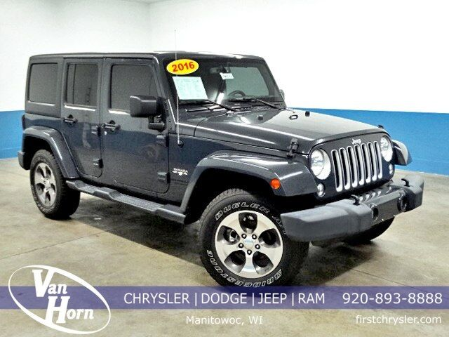 2016 Jeep Wrangler Unlimited Sahara Plymouth WI