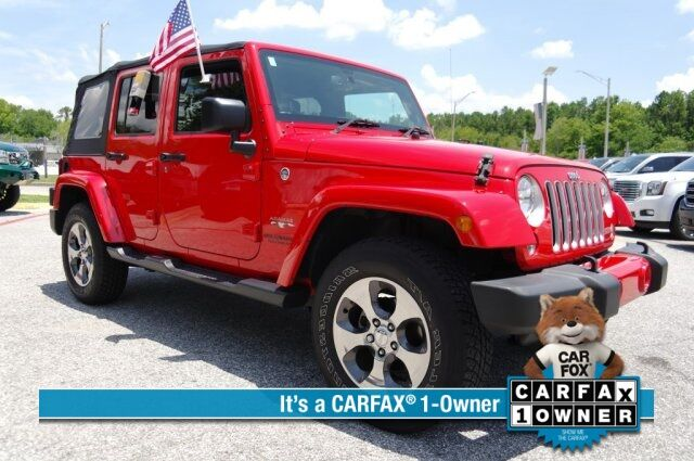 2016 Jeep Wrangler Unlimited Sahara Savannah GA