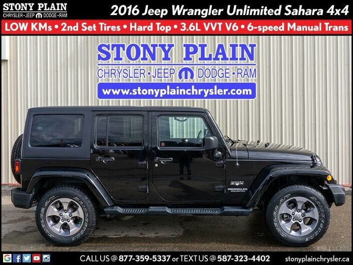 2016 Jeep Wrangler Unlimited Sahara Stony Plain AB