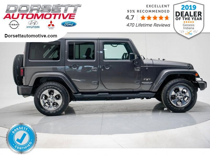 2016 Jeep Wrangler Unlimited Sahara Terre Haute IN