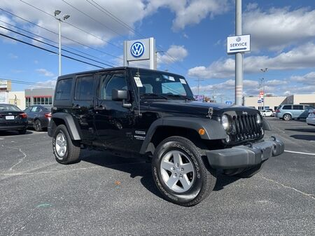 2016_Jeep_Wrangler_Unlimited Sport ** HARD TOP ** 4X4 ** CHECK IT OUT **_ Salisbury MD