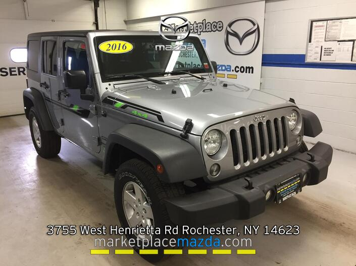 2016 Jeep Wrangler Unlimited Sport 4WD Rochester NY