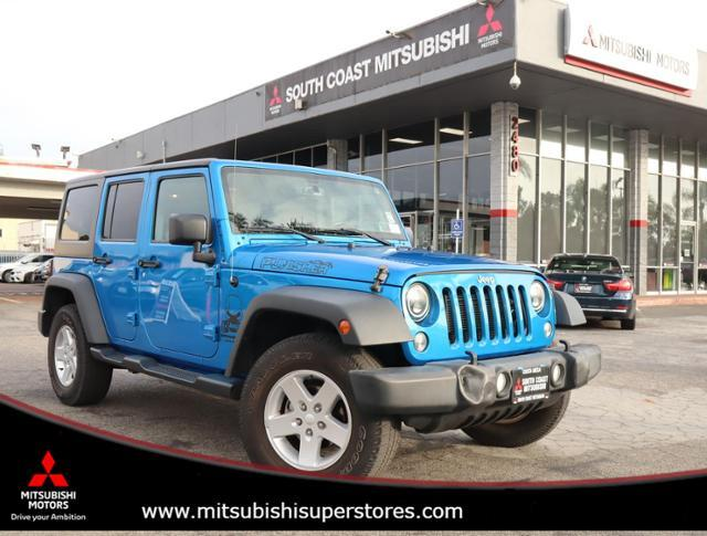 2016 Jeep Wrangler Unlimited Sport Costa Mesa CA