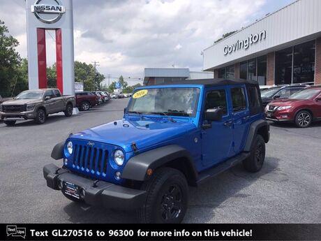 2016 Jeep Wrangler Unlimited Sport Covington VA