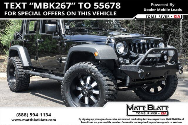 2016 Jeep Wrangler Unlimited Sport Egg Harbor Township NJ