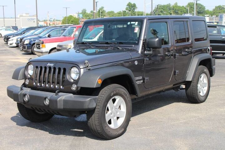 2016 Jeep Wrangler Unlimited Sport Fort Wayne Auburn and Kendallville IN