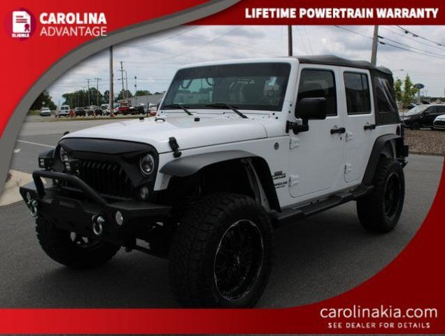 2016 Jeep Wrangler Unlimited Sport High Point NC