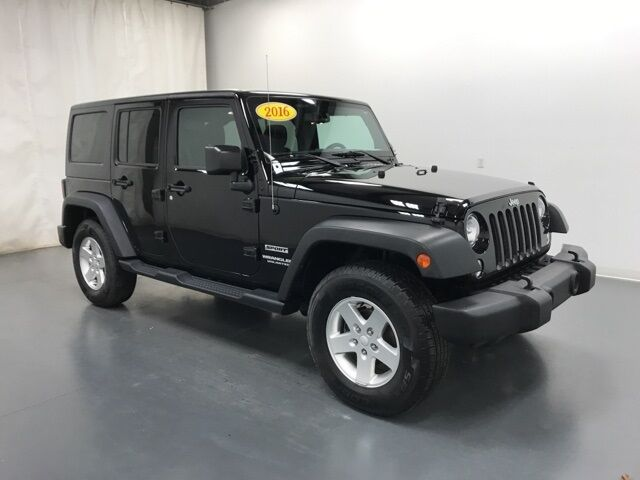 2016 Jeep Wrangler Unlimited Sport Holland MI
