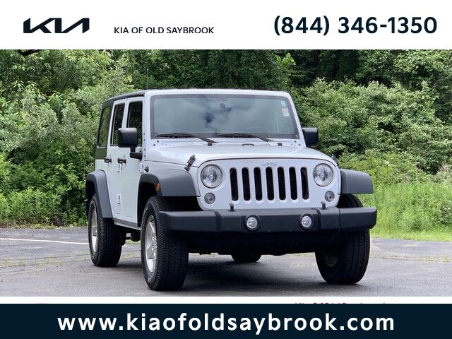 2016 Jeep Wrangler Unlimited Sport Old Saybrook CT