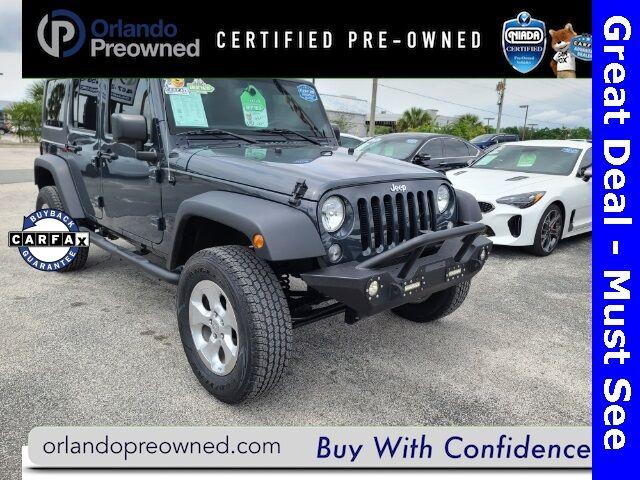 2016 Jeep Wrangler Unlimited Sport Orlando FL